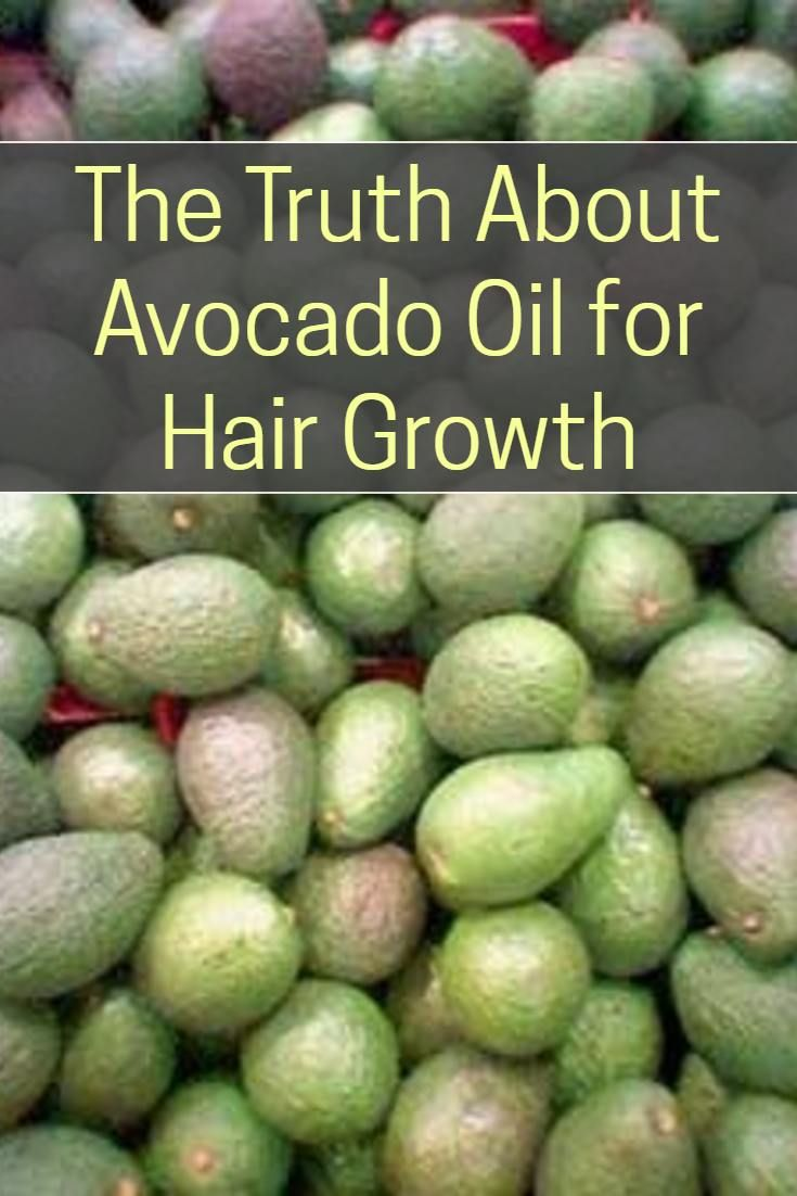 Can avocado oil actually help with hair growth and just what is in it that makes it so good for your hair?    Despite many websites giving a long list of vitamins, minerals, omega-3 fats and amino acids supposedly in avocado oil. And then giving reasons why all of these nutrients are responsible for its hair growth properties, the truth about using avocado oil on your hair is actually much simpler and more powerful.