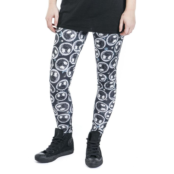 "Leggings ""Moonskull"" di #TheNightmareBeforeChristmas."