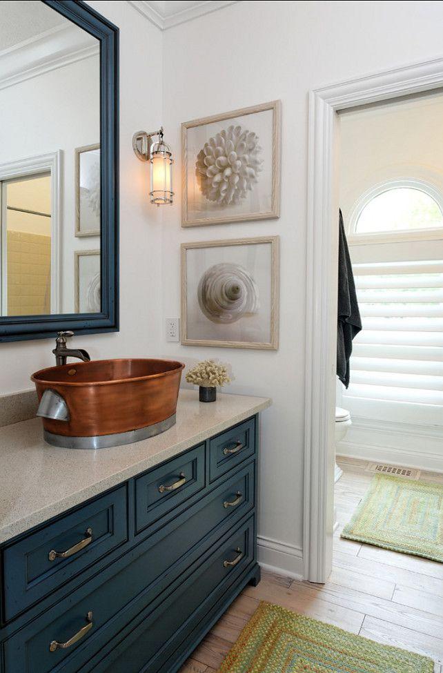 Best 25 Coastal Powder Room Ideas On Pinterest Small Pedestal Sink Paint