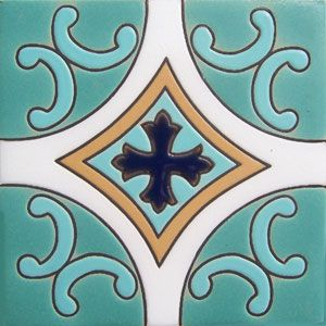 Mexican Tile Handmade Ceramic Rdc 86