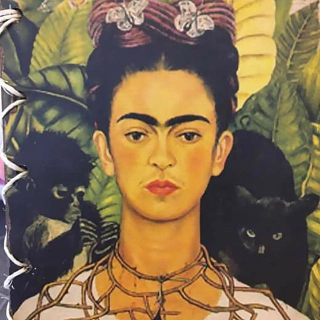 Another Frida cover from a notebook. @fridakahlomuseo @fridakahlo #fridakahlo #fridakahlomuseum