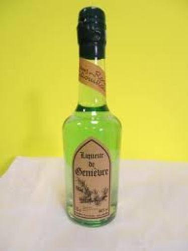 liqueur de genievre 70cl louis roque presenté en caisse bois neuf