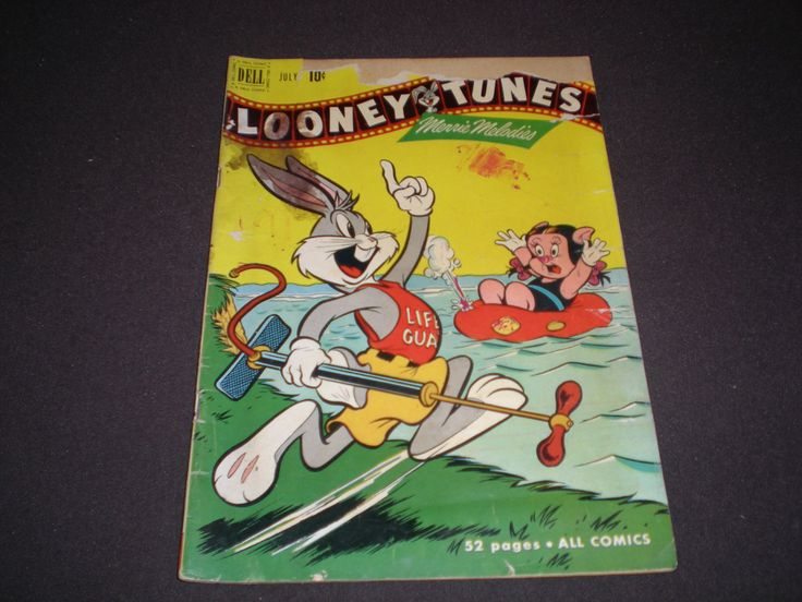 Looney Tunes and Merrie Melodies 117, (1951), Bugs Bunny, Dell Comics by HeroesRealm on Etsy