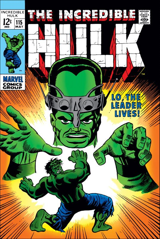 99 best my silver age comics collection images on pinterest the incredible hulk lo the leader lives fandeluxe Image collections