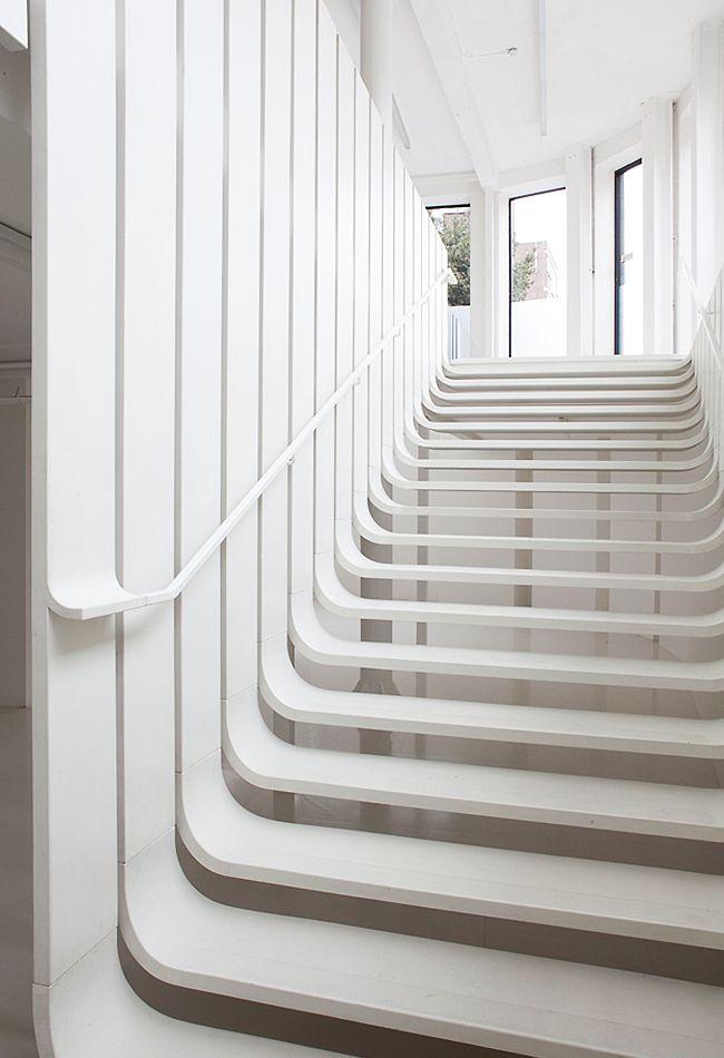 Die 105 besten Bilder zu STAIR auf Pinterest Villas, Mehlschwalbe - exklusives treppen design