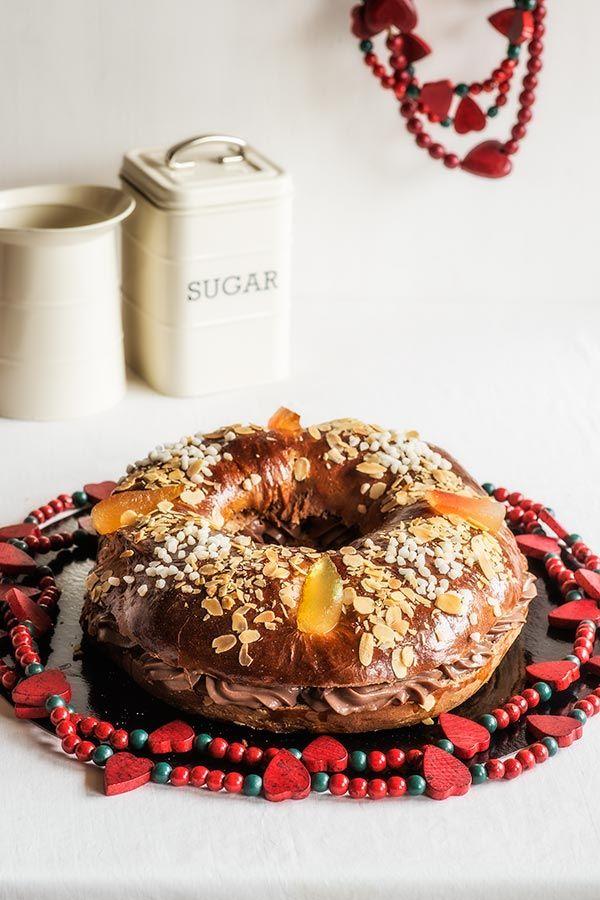 Roscón de Reyes de chocolate Más