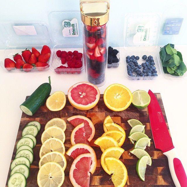 飲んで、痩せる!目的別・ダイエットに効くDETOX WATER(デトックスウォーター)の夏レシピ