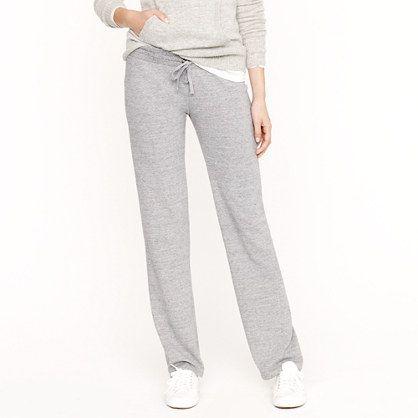 Lightweight fleece pant