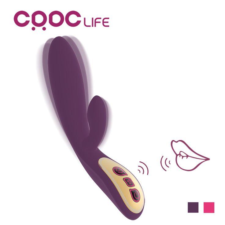 CRDC Punto G Vibrador Con Control de Voz + 7 Motor Súper Adulto Productos del sexo para Las Mujeres Juguete Del Clítoris Masajeador Erótico Sexy para parejas