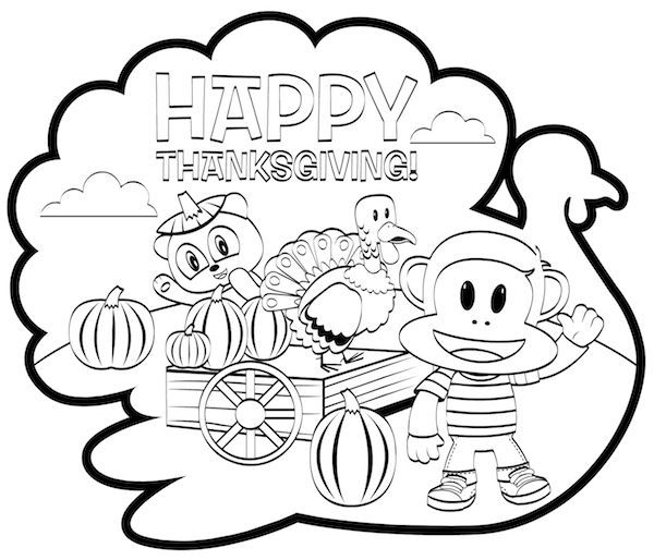 turky coloring pages 4 kids - photo#22