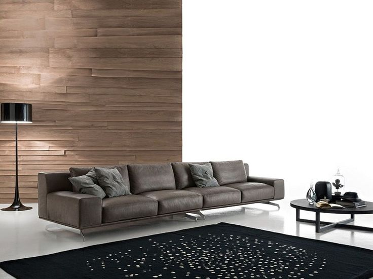Divano componibile in ecopelle Dalton leather by Ditre Italia - divanidivani luxurioses sofa design
