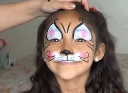 Resultado de imagen de maquillaje batman niño