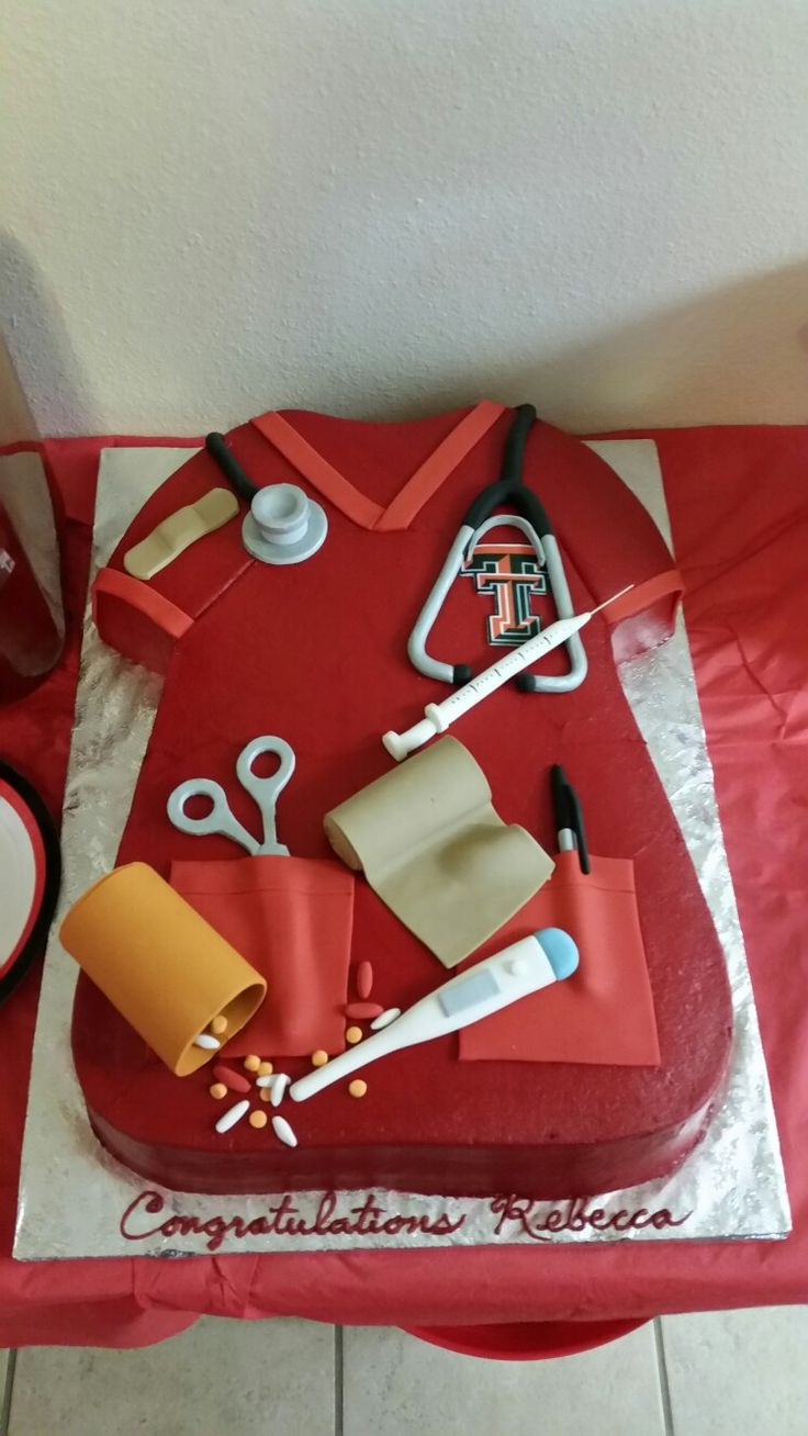 Texas Tech - Nursing Graduation Party
