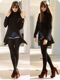 2a5a33f25 faldas negras con medias