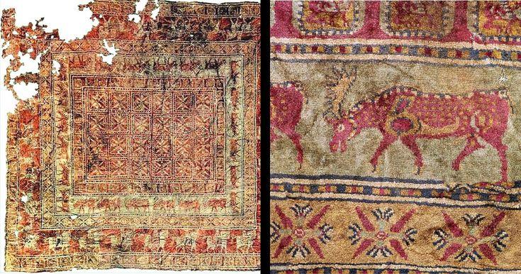 Il Tappeto di Pazyryk ha 2.500 Anni ed è il più Antico al Mondo