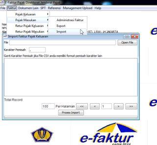 Cara Import Data eFaktur Pajak Dari Exel Ke Aplikasi eFaktur Pajak Onlinecara ngeblog di http://www.nbcdns.com