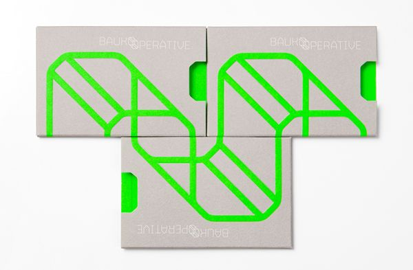Baukooperative by Roland Radschopf, via Behance