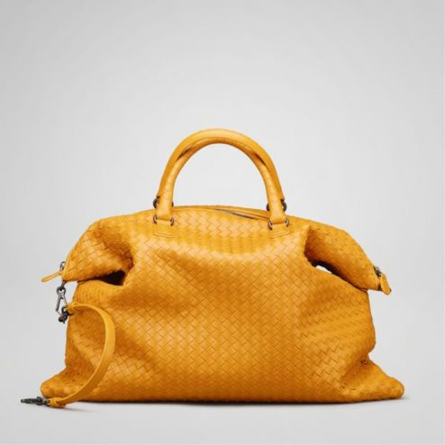 Bottega Veneta Topaz Intrecciato Nappa Convertible Bag