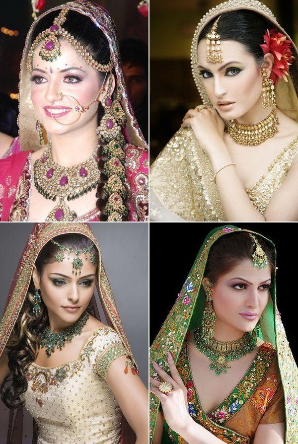 Классический индийский макияж