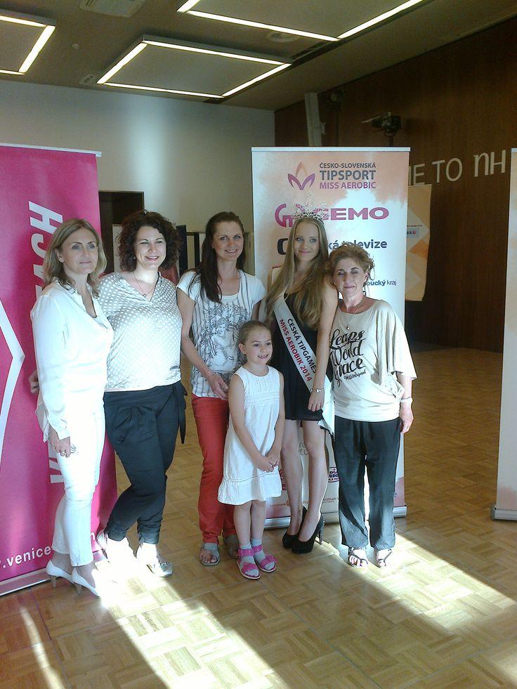 náš team a Miss Aerobik 2014