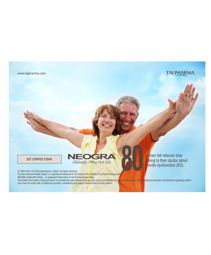 Neogra jelly (sildenafil) 100mg oral jelly taj pharma copy
