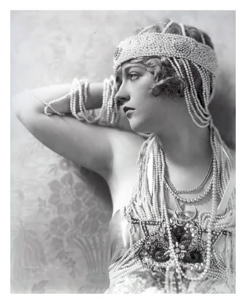 Marion Davies, 1897-1961. Silent film star and early Talkies.  Muse of newspaper magnate William Randolph Hearst who set her up in her own Cosmopolitan Film Studios.