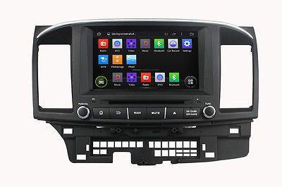 Android 5.1.1 Car Dvd Gps Navi Player Dab Obd2 For Mitsubishi Lancer 2006-2012