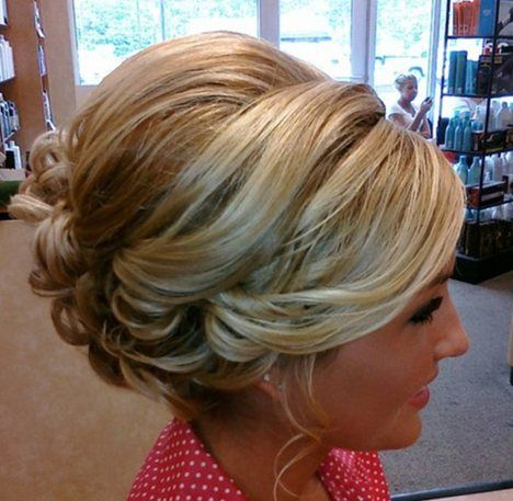 updos for shoulder length hair
