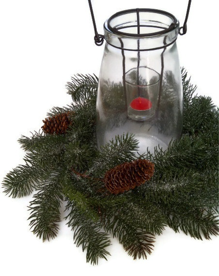 Christmas Centerpiece Rustic Lantern Candle By Perpetualposy, $59.95 Part 89