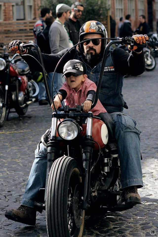 Take your dad for a ride day this would SO be my son and son in law with my grandboys!