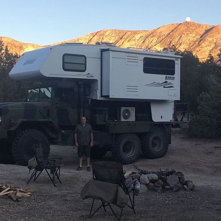topaz and super moon off road rv expedition vehicle m923a2 camper
