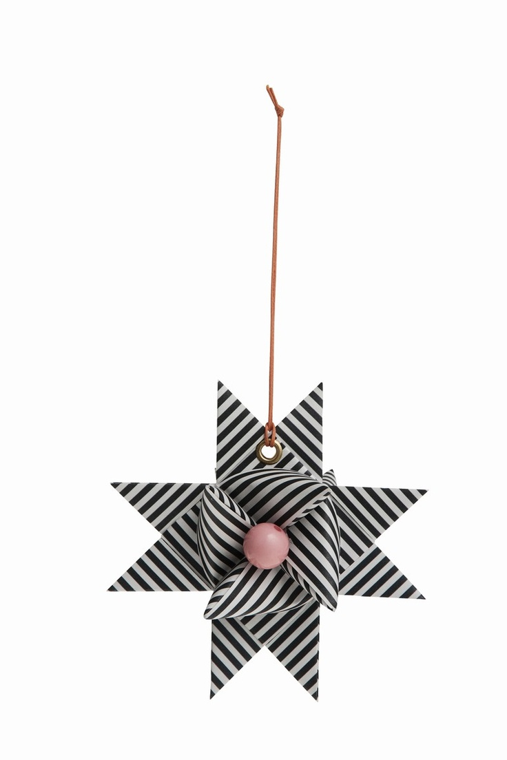Paper Star - Black from Danish Ferm Living's x-mas collection. I love it!!