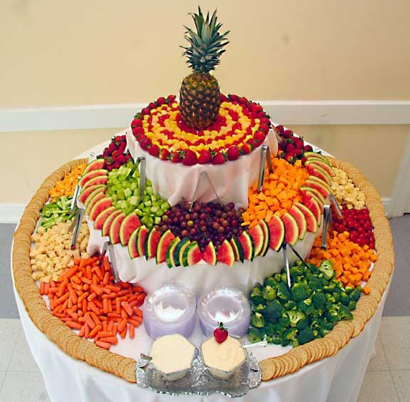 http://www.colincowieweddings.com/wedding-photos/detail/image257790 Philippines - 37 Surprising Fruit And Veggie Wedding Desserts Bar Buffet Display (10)