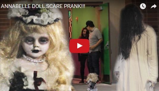 ANNABELLE DOLL SCARE PRANK http://justgetideas.com/annabelle-doll-scare-prank/#sthash.V58ZFGqp.dpbs