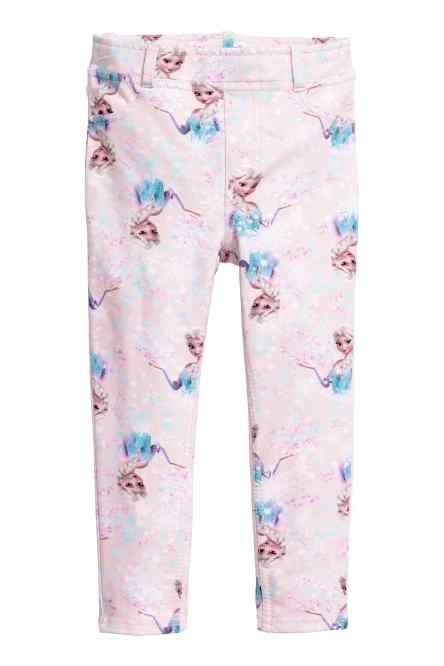 Pantaloni-colanți cu imprimeu