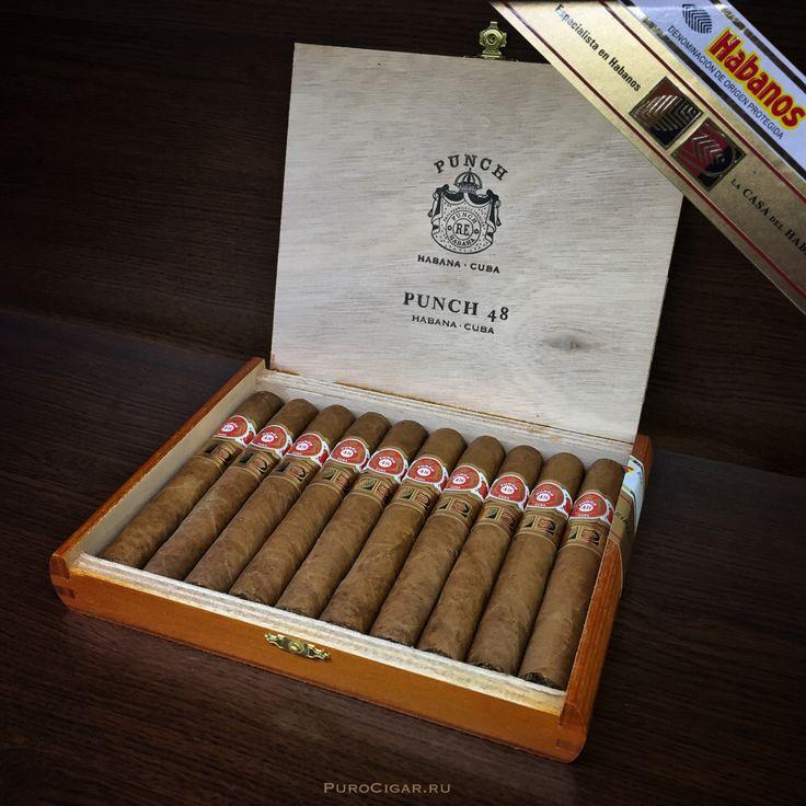 Ещё одна кубинская новинка! И снова, впервые в России! Кубинские сигары Punch Punch 48 (LCDH) так же, уже в наших магазинах!