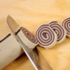 Curiosi biscottini girandola, per una colazione divertente e allegra, semplicemente buonissimi !
