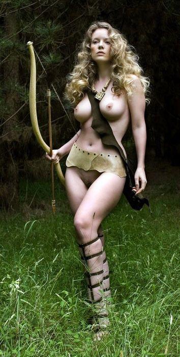Sexy archery women-3515