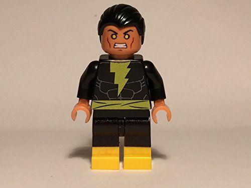 Lego Custom Printed Black Adam Minifig DC Super Hero