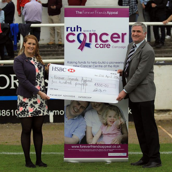 Bath City FC committed to support Bath hospital - The Forever Friends Appeal - The Forever Friends Appeal