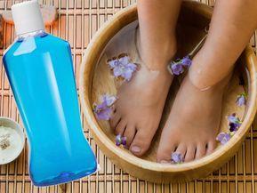 Es ist eines der beliebtesten Beauty-Hacks auf Pinterest. Aber die DIY-Pedi …   – Gesundheit