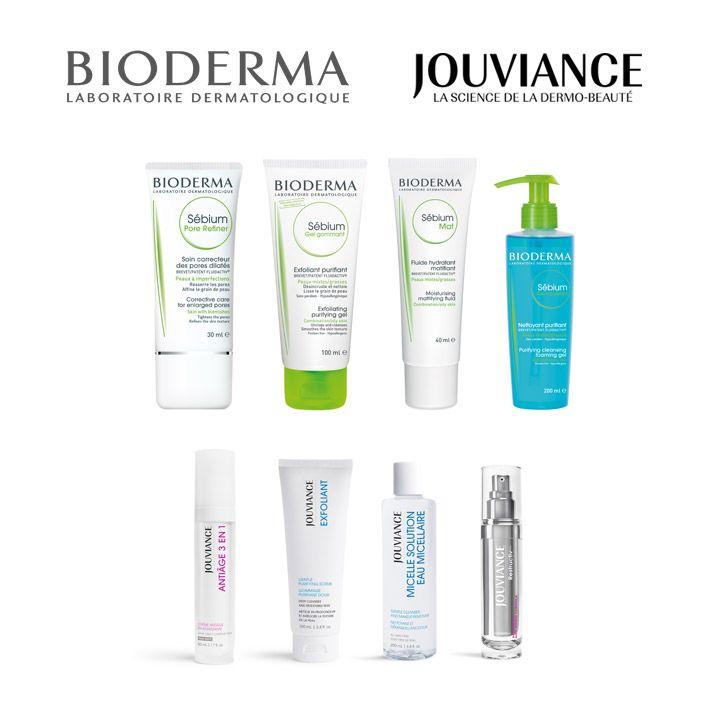 concours célébrons nos 10 ans avec les produits Bioderma et Jouviance