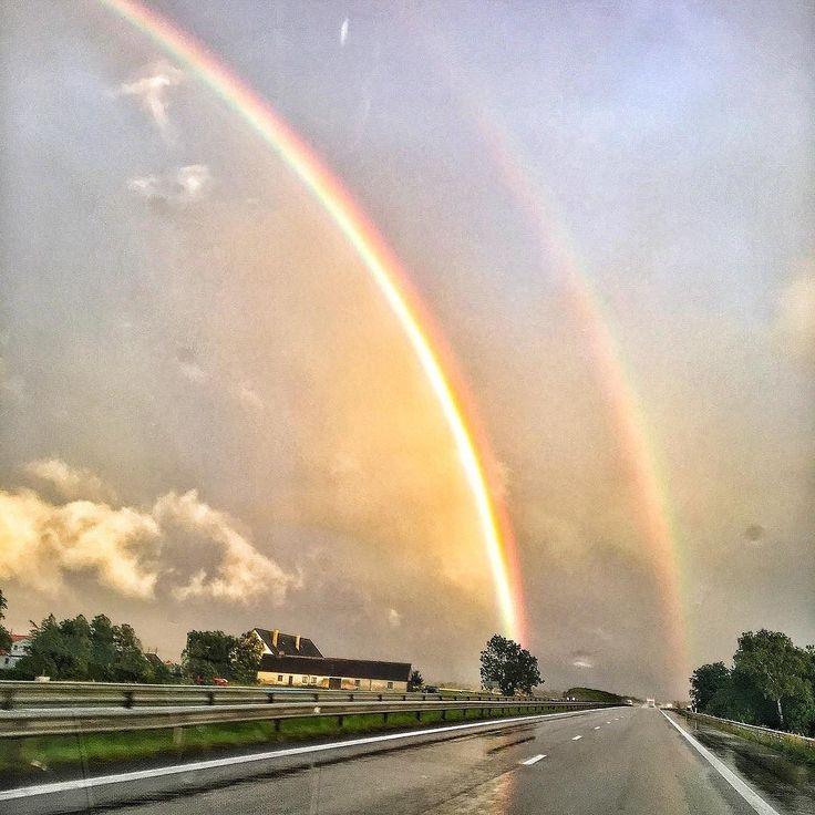 Två regnbågar - Two rainbows - Somewhere Over the Rainbow(s)