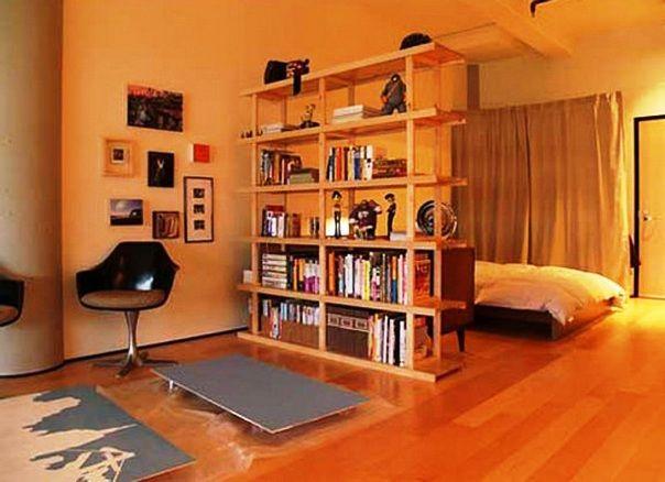 studio apartment partition Modest Studio Apartment Decorating Ideas On A Spending Budget interior design
