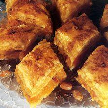 Κάλυμνος Κολοκυθόπιτα γλυκιά (Greek traditional desert with pumpkin from Kalymnos island)