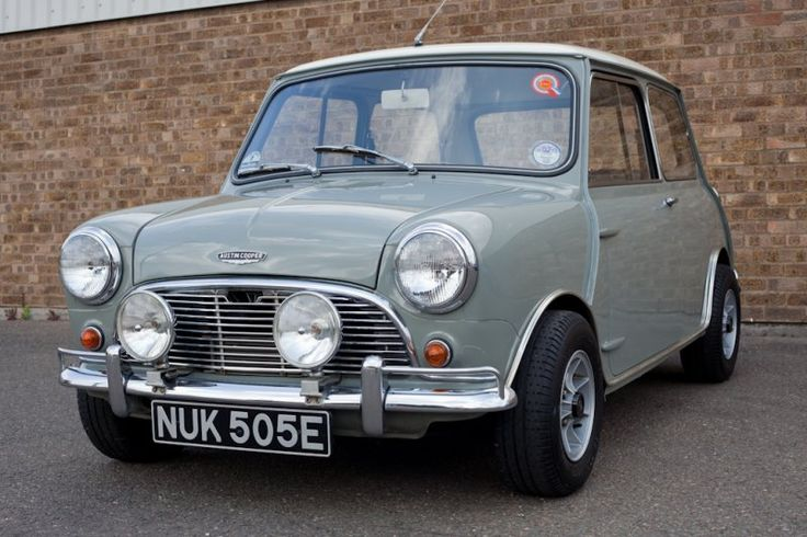 1967 Austin Cooper Mini. What an incredible design that really pushed the boundaries of engineering and made the small car market.