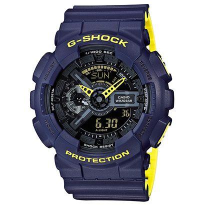 Veja Relógio GA-110LN G-Shock Analógico Digital Azul e outros productos na Netshoes