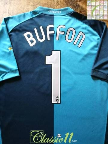 e3f5e6885 Official Nike Juventus goalkeeper football shirt from the 2006 07 season.  Complete with Buffon  1 on the back of the shirt in official lettering.