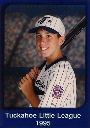 Detroit Tiger, Justin Verlander in 1995 playing Little League Baseball. so cute!