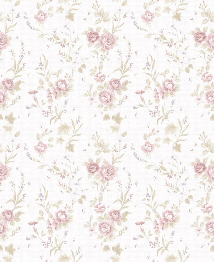 The Last Summer floral wallpaper